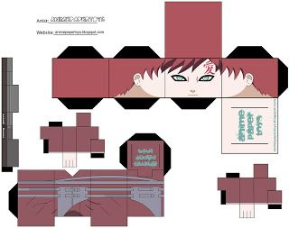 another cool naruto papercraft japan media online diy