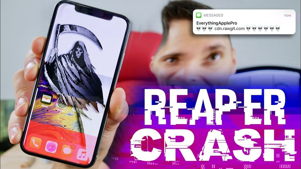 Do NOT Click This Link! Crash ANY iPhone ☠️ YouTube