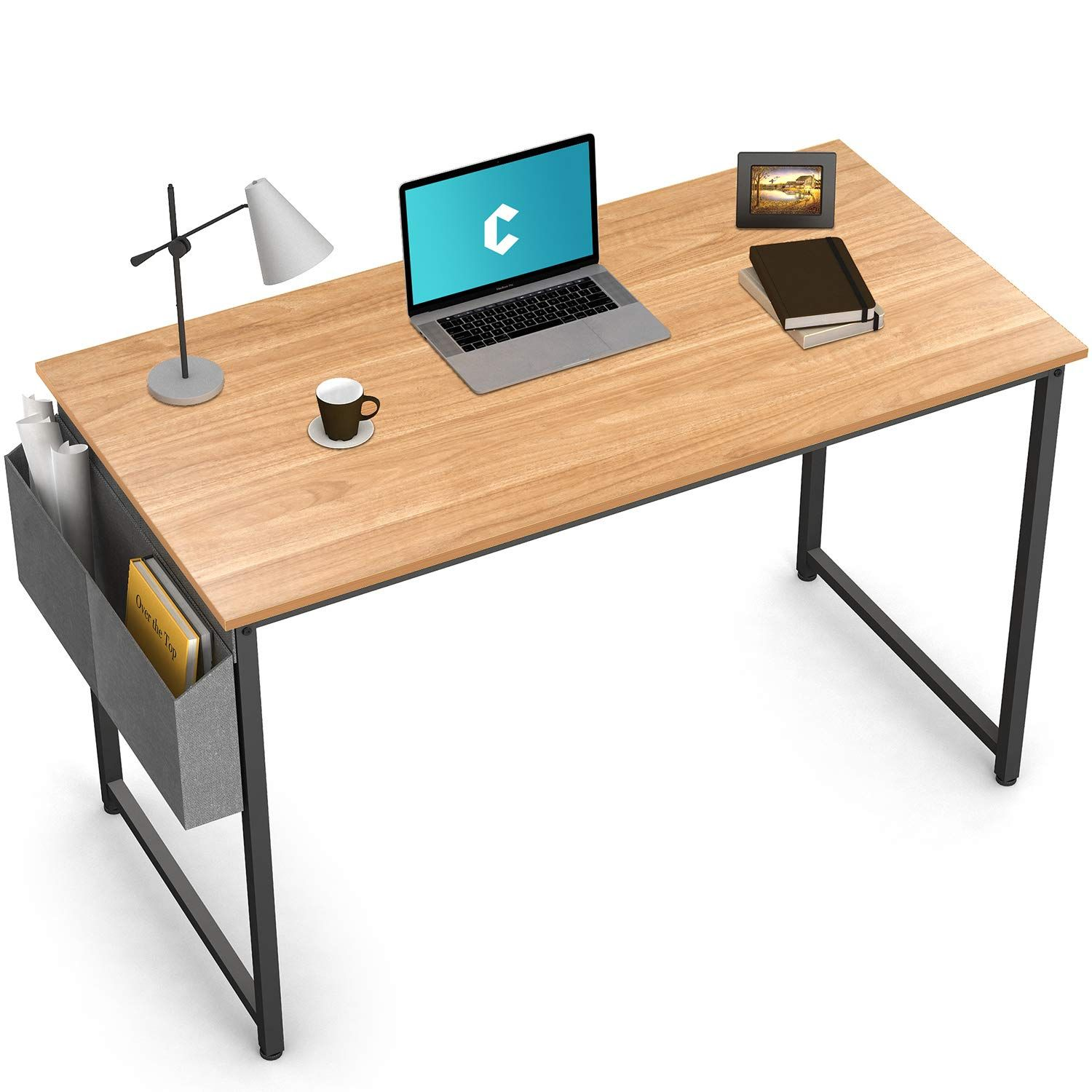 Cubiker Writing Computer Desk 39 Home Office Study Desk Continue To The Product At The Image Link It Is An Affiliate L In 2020 Simple Office Desk Simple Desk Desk