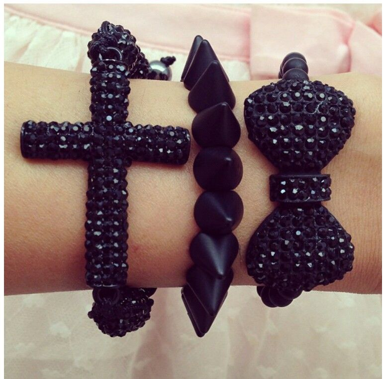 Black jewelry my new love