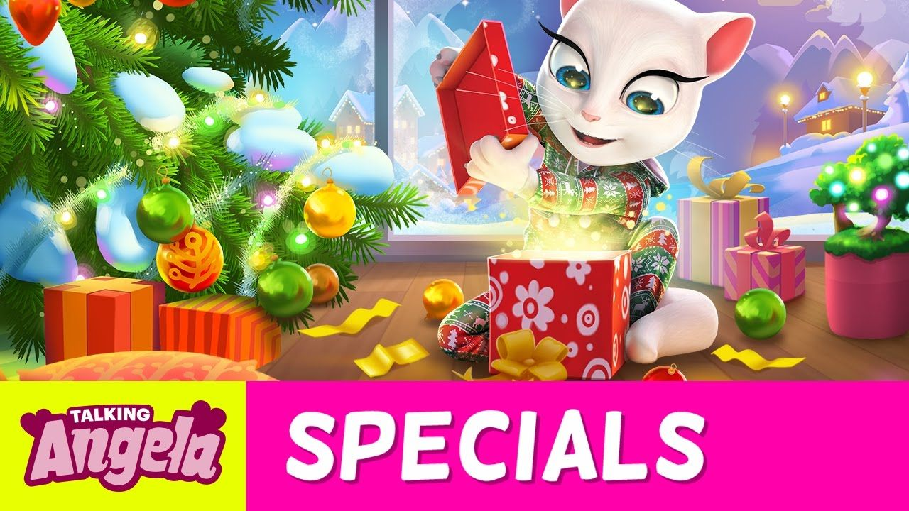 NEW SONG Merry Christmas from Talking Angela (Music