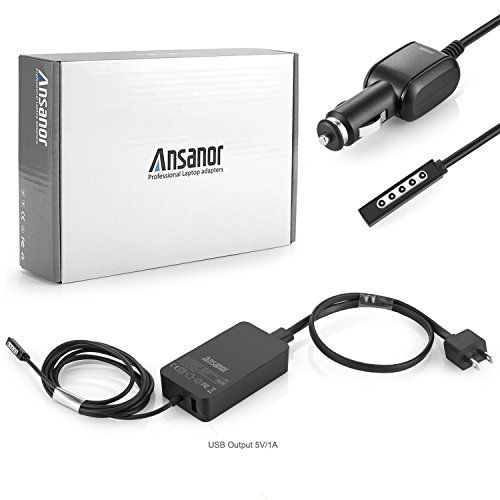 Awesome ansanor 48w 12v 36a power adapter charger for microsoft awesome ansanor 48w 12v 36a power adapter charger for microsoft surface pro 1 pro 2 sciox Images