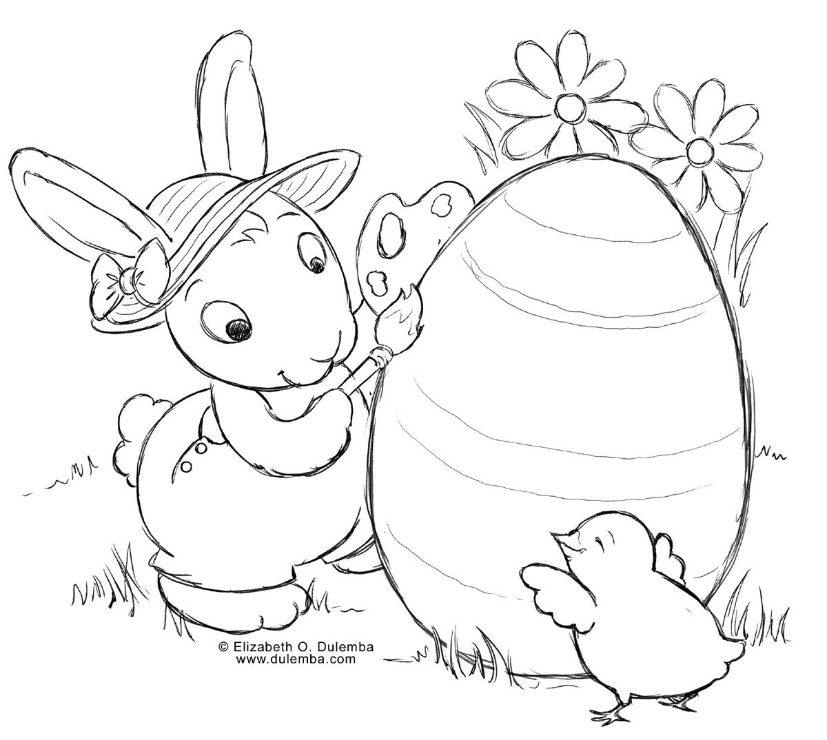 Free easter coloring pages for toddlers - Check Out Some Best Printable Easter Bunny And Easter Bunny Printables Happy Easter Bunny Printables Easter Bunny Coloring Pages And Easter Bunny Free