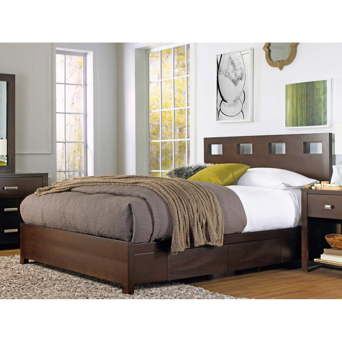 Paxton King Storage Bed King storage bed, Storage bed