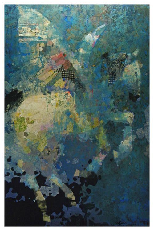 Mark English - Contemporary Artist - Horse 24