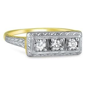 18K Yellow Gold The Liberty Ring