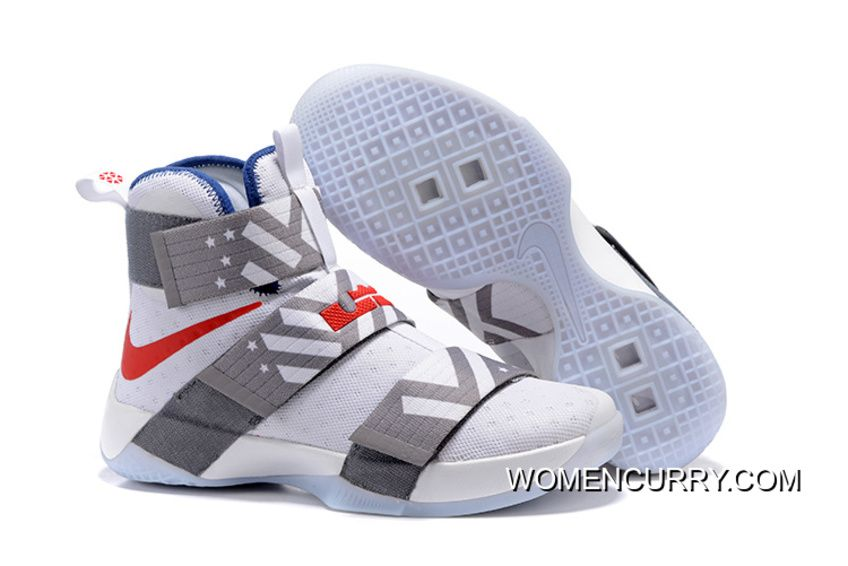 e9440936742c Nike Zoom LeBron Soldier 10 USA Dream Team 12 New Style in 2019 ...
