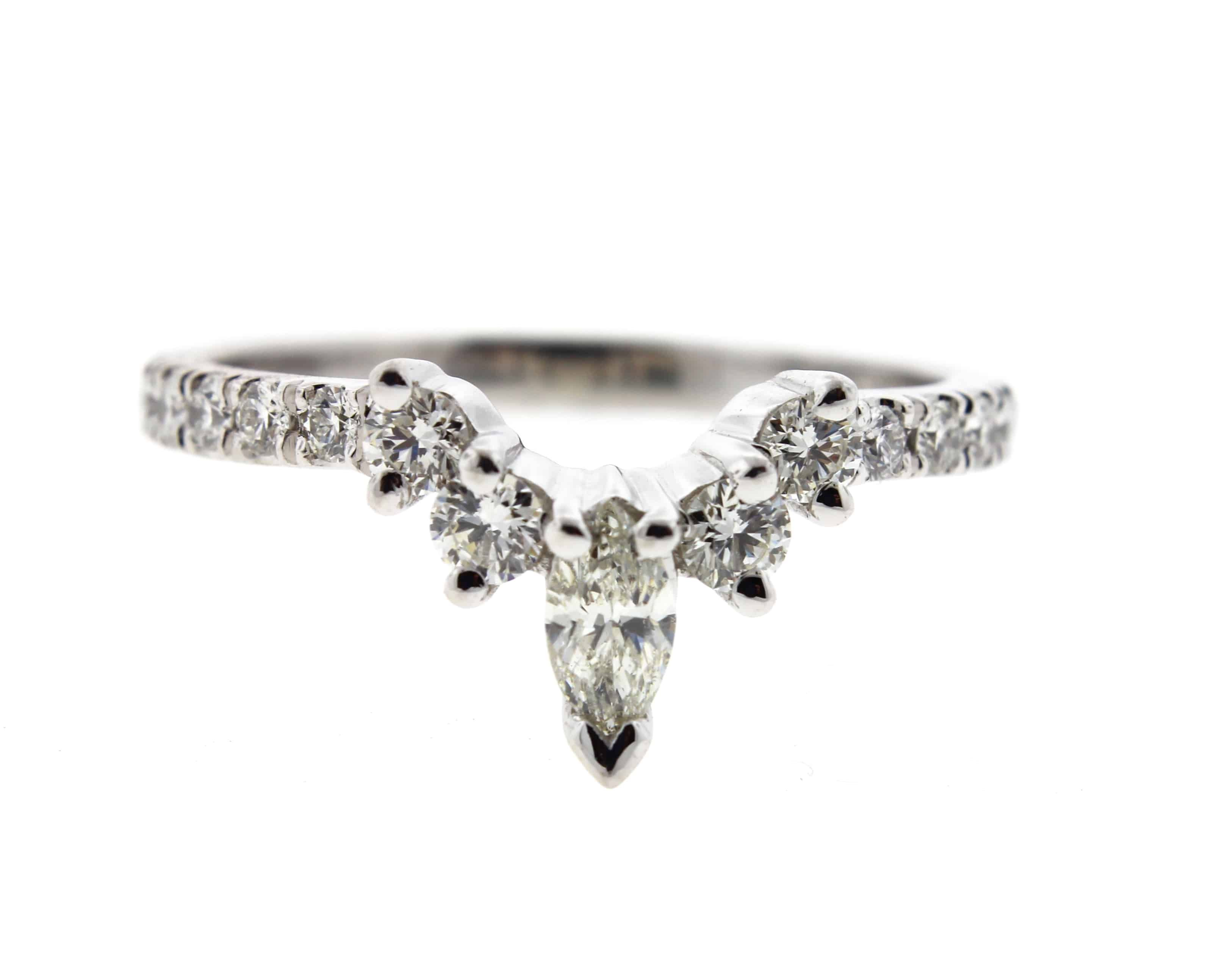 Butterfly Diamond Tiara Ring Engagement rings marquise