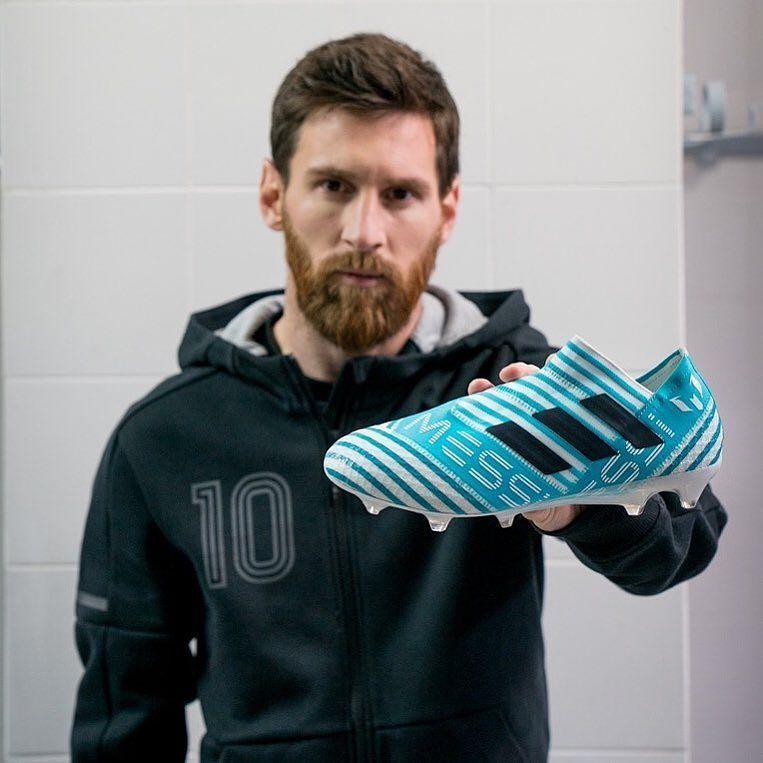 Concessione Coraggioso corpulento  The second signature @leomessi #NEMEZIZ from @adidasfootball. Available now  at the link in the bio. -- #soccerdotcom #adidas #m… | Lionel messi, Messi, Messi  cleats