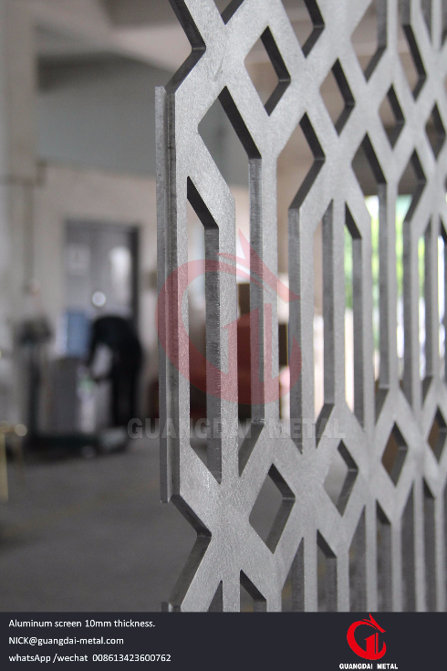 Aluminum Screen Partition Gd Metal Stainless Steel Fabrication