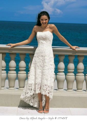 short casual wedding dresses - Google Search Omg! This is the dress I thought I wanted for months before I found mine! Haha! Weird!