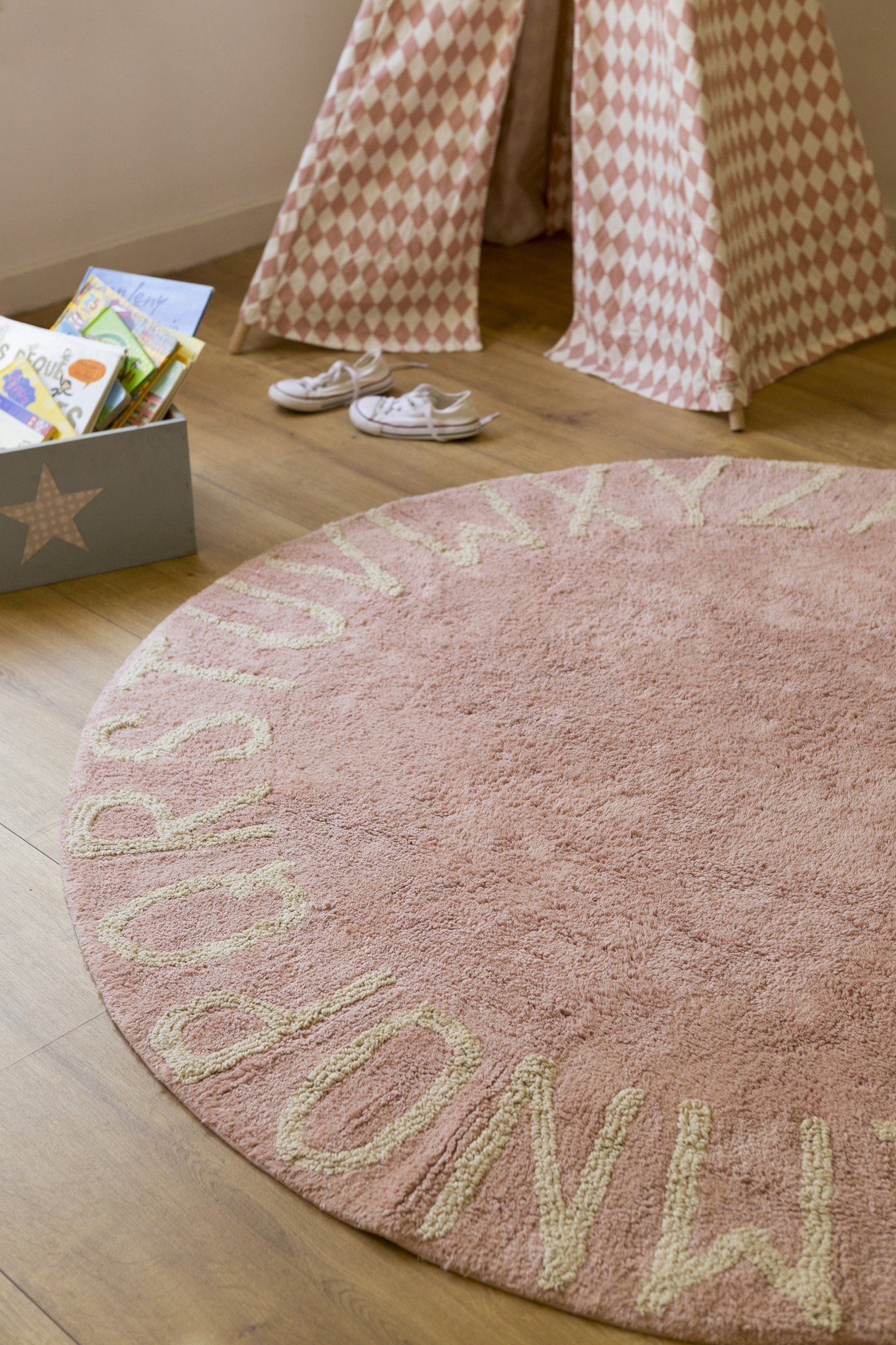 Round Abc Rug Baby Kids Area Rugs Washable Area Rugs