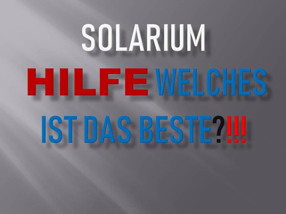 ᐅ TOP Solarium im Vergleich & Pflegeprodukte kaufen. Inkl