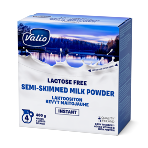 VALIO Lactose free semi skimmed milk powder 400 g