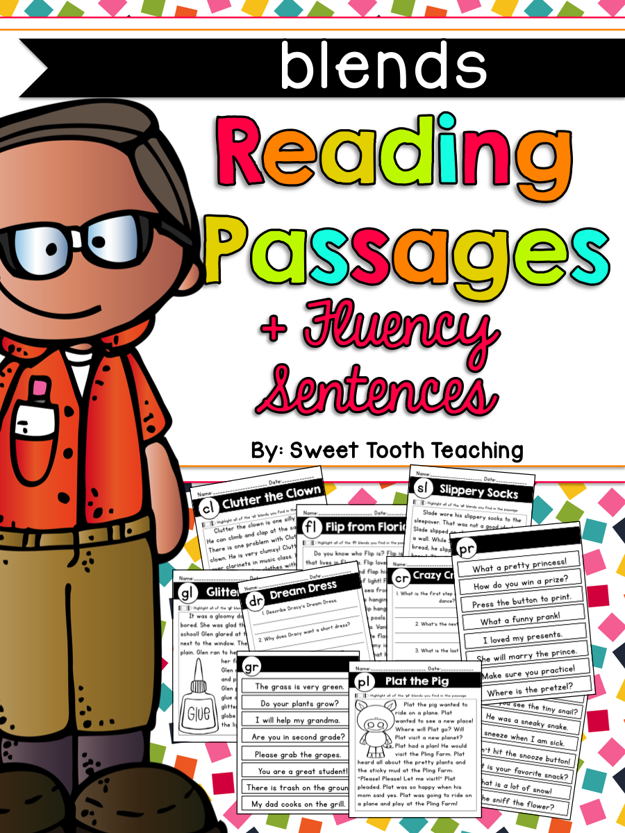 Perfect for Interventions! | Reading passages ...