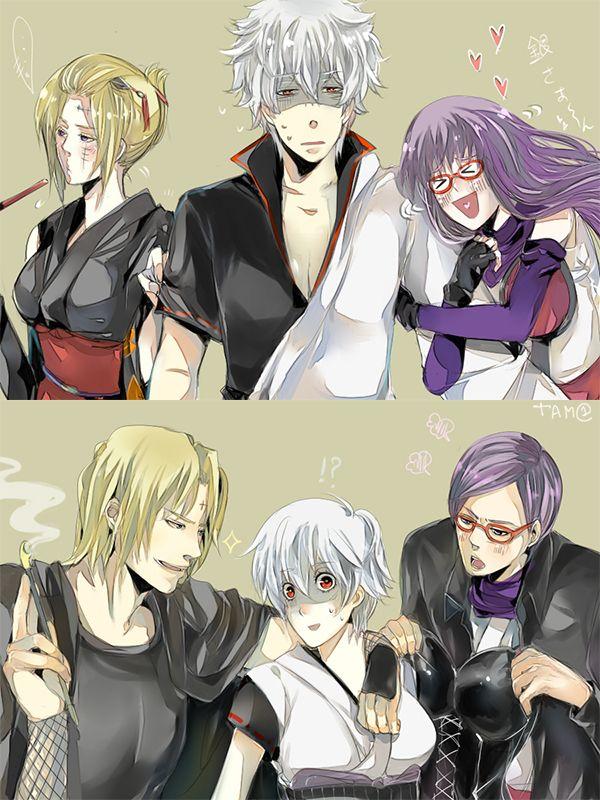 Gintama change! by tamichi on DeviantArt Gender bender