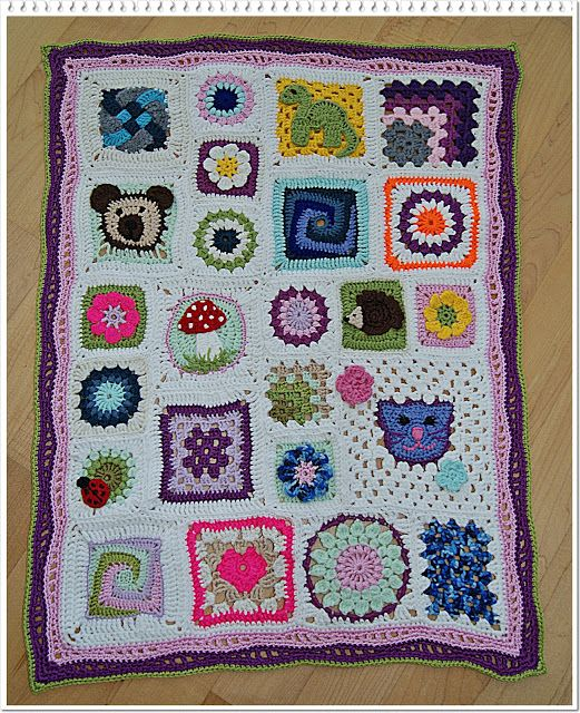 verplüscht and sewn: Granny Squares