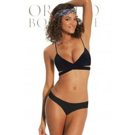 Orchid Label 2014 'Emma Black Thong' Bikini | The Orchid Boutique