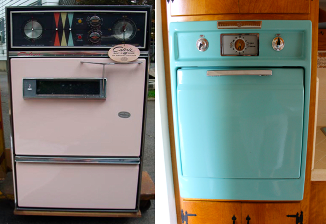 Soulful Abode Character Homes Food Love For L A S Eastside Retro Kitchen Decor Wall Oven Vintage Kitchen