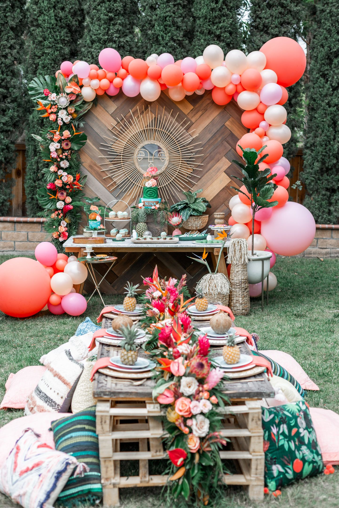 Moana First Birthday Party Ideas and Supplies | Dress Me Blonde