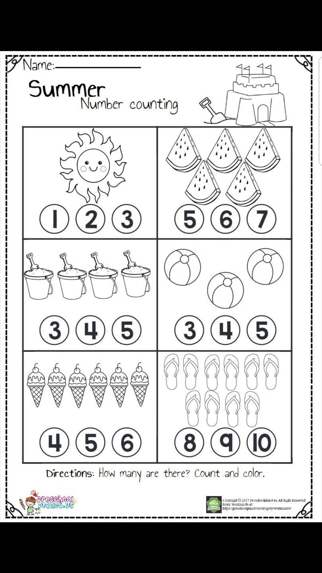 Pin By Fipit Mutmainah On Resim Kindergarten Math Worksheets Math Counting Worksheets Kindergarten Math Counting