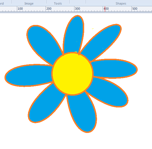 How To Draw And Color Simple Images In Microsoft Paint Microsoft Paint Drawings Fun Easy Crafts