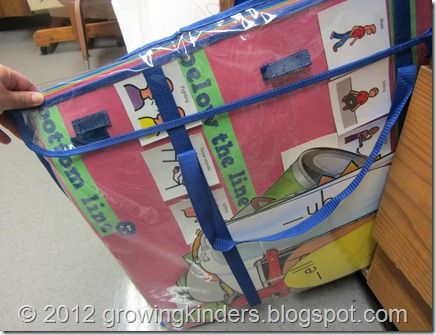 Poster Storage (by Month)   Deluxe Bulletin Board Storage Pockets