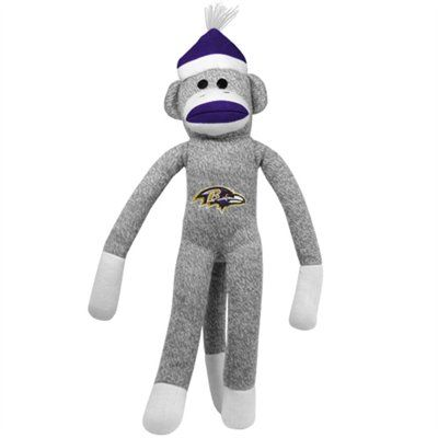 Baltimore Ravens 20'' Team Sock Monkey  @Fanatics #FanaticsWishList