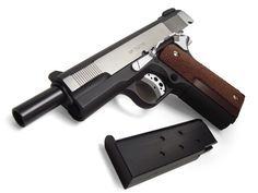 """Yuri Custom Works M1911A1 CUSTOM """"NAKED SNAKE's .45(ver.3) """" from Metal Gear Solid 3"""