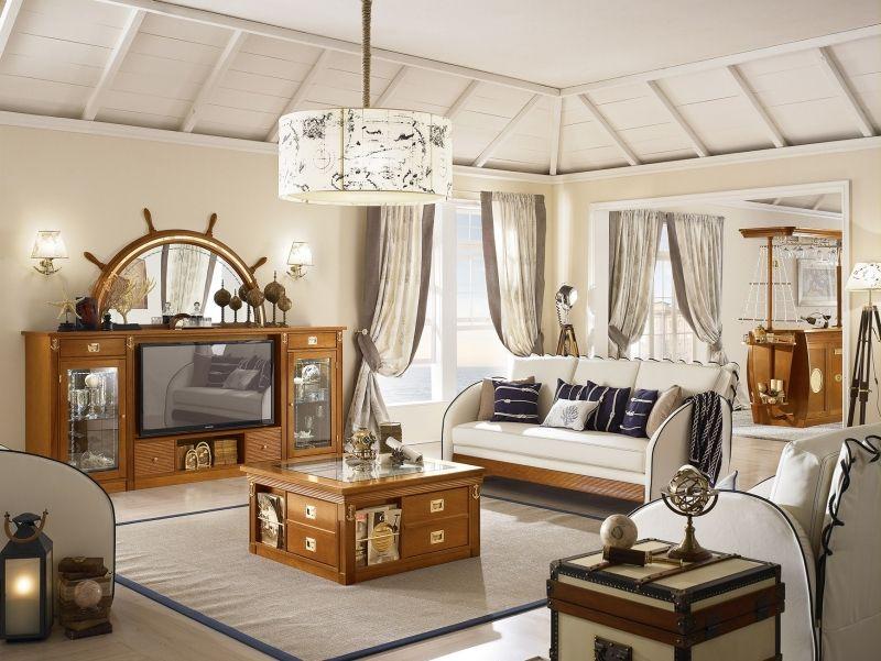maritimes wohnzimmer einrichten ideen, wohnzimmer maritim design - wohndesign -, Ideen entwickeln