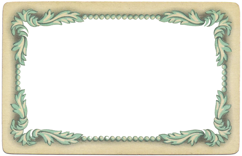 antique-playing-card-blue-frame-border-Knick-of-Time.png (813×525 ...
