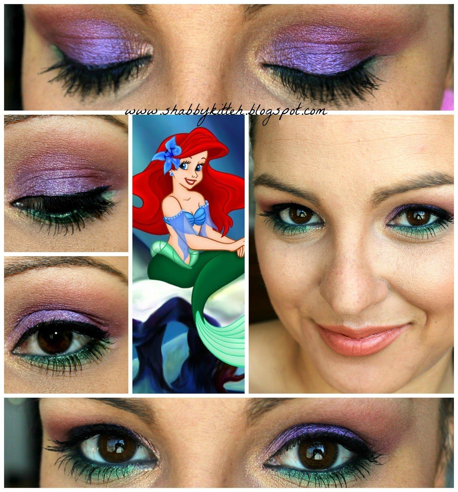 Disney Little Mermaid Makeup Tutorials, How to Beauty