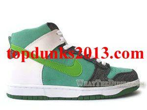 Nike Mint Black Green White Dunks 6.0