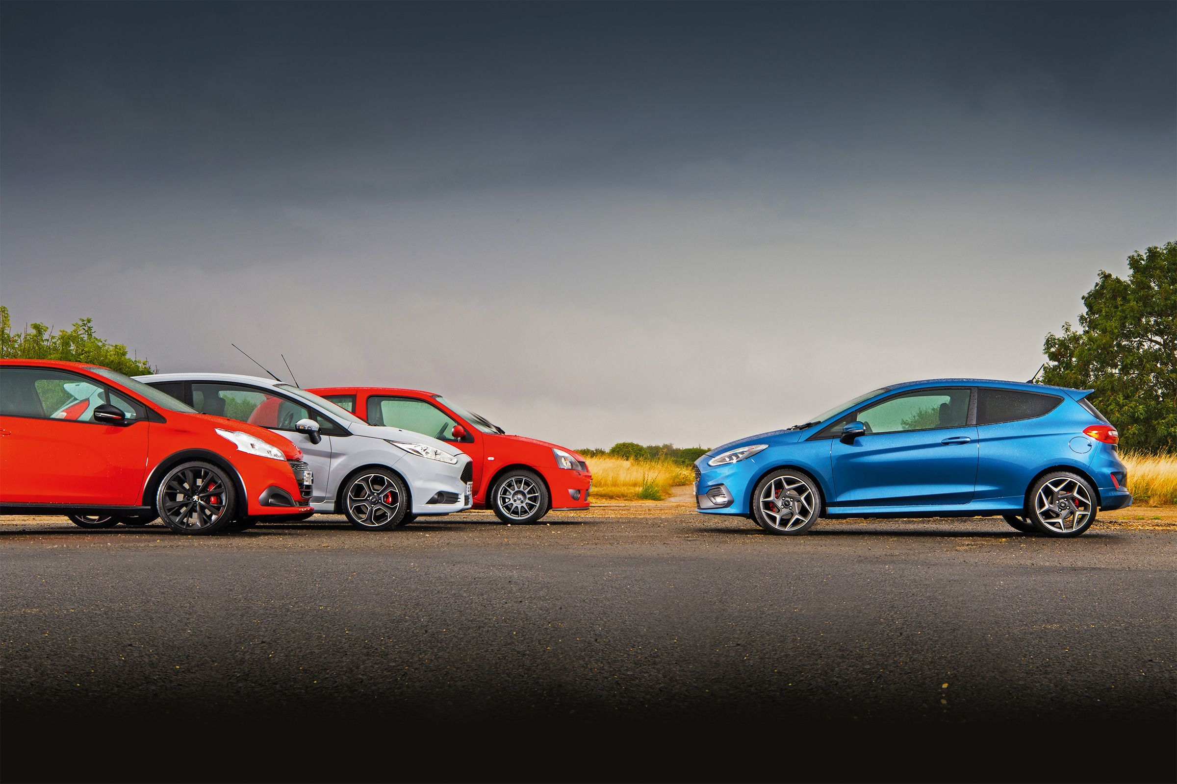 New Ford Fiesta St Vs Hot Hatch Greats Hot Hatch Ford Fiesta