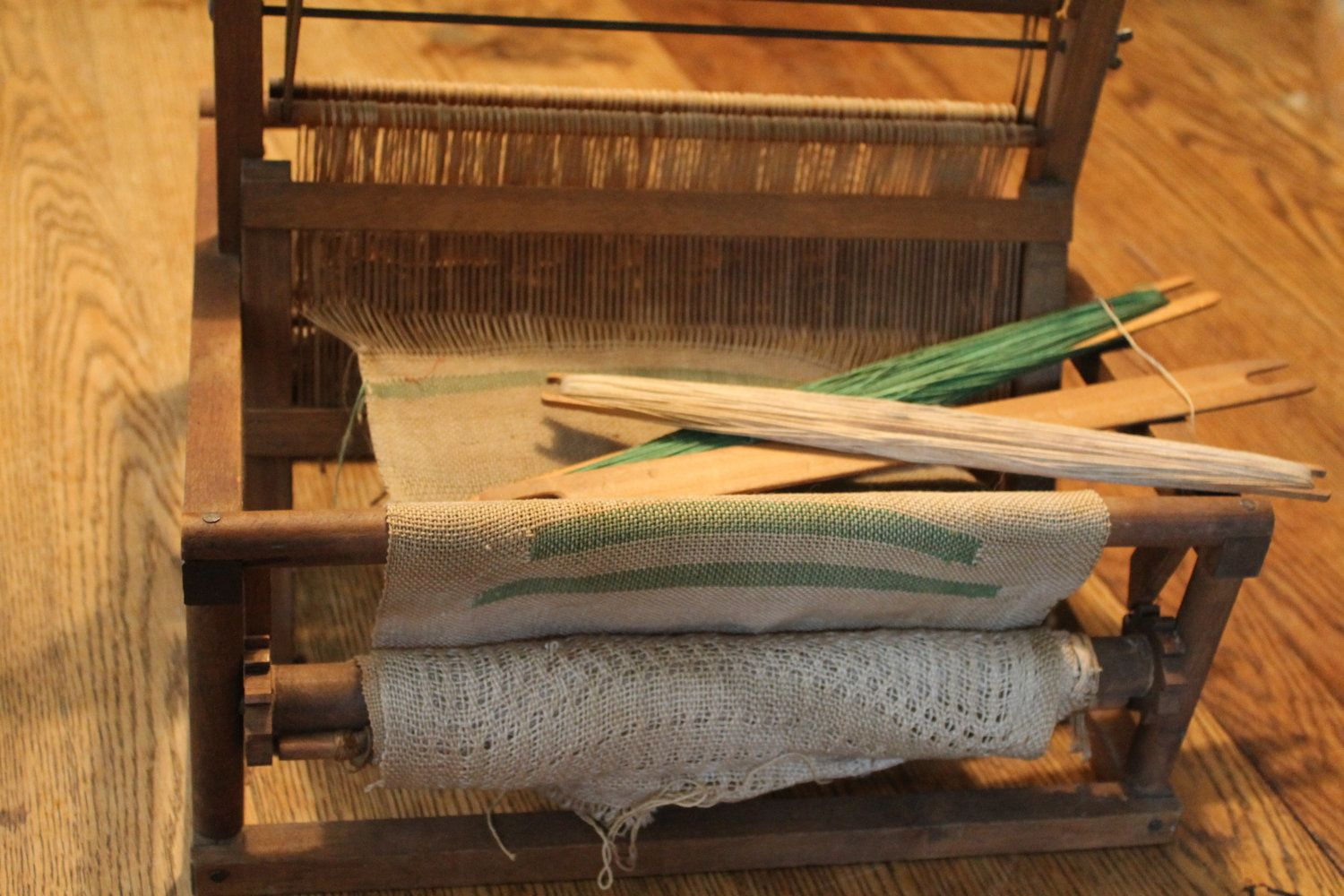 Tabletop Weaving Loom. $89.00, via Etsy.