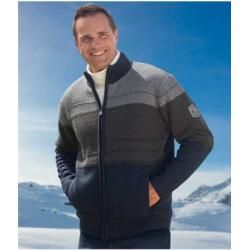 Photo of Strickjacke mit Mikrofleece Atlas für Männer