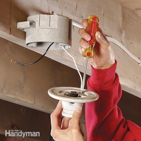 Pull Chain Light Fixtures Are Easy To Replace When The Switch Wears Out Or Breaks