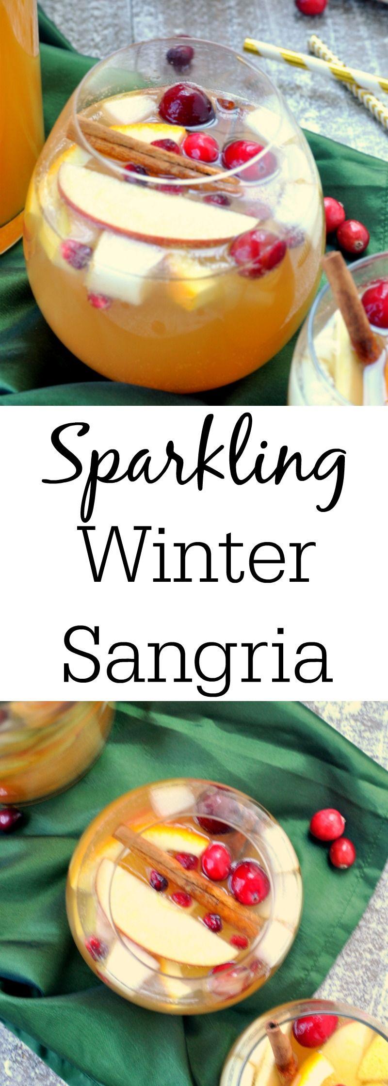 Watch Sparkling Winter Sangria video