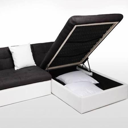 Finlandek Canape Angle Xxl Levea Noir Blanc Objet A Poser Salon