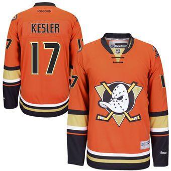 a45eababde6 Reebok Ryan Kesler Anaheim Ducks Orange Alternate Hockey Jersey  nhlducks   ducks  anaheim