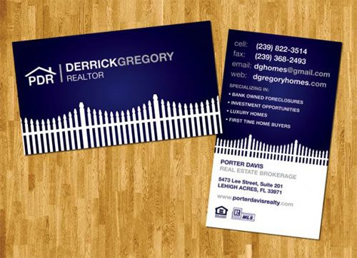 30 Examples Of Real Estate Business Cards