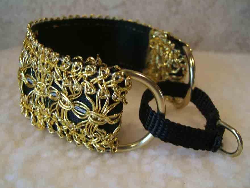 Martingale Collars Description - Charis Fancy Martingale Bell Collars