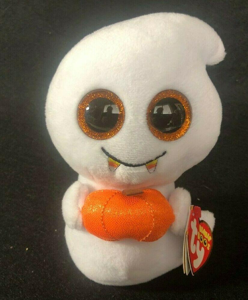 1458959f5ee TY Beanie Boos - SCREAM the Ghost Glitter Eyes 6