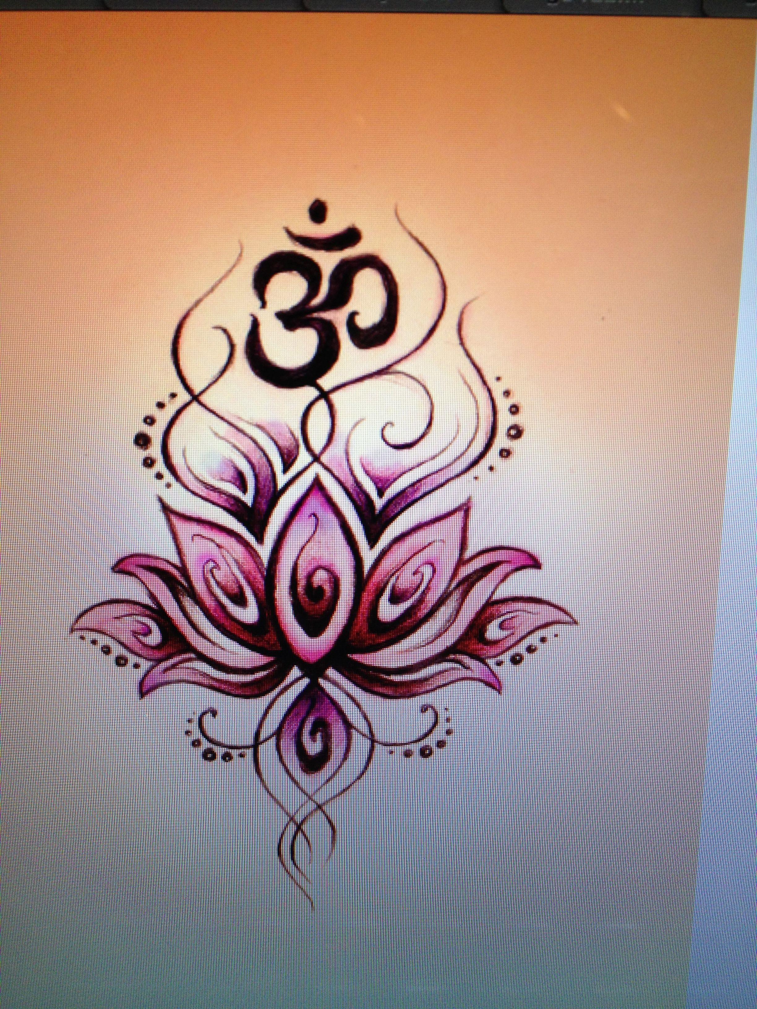 Om lotus tattoo pinterest tattoo tatoo and egyptian tattoo om lotus mightylinksfo