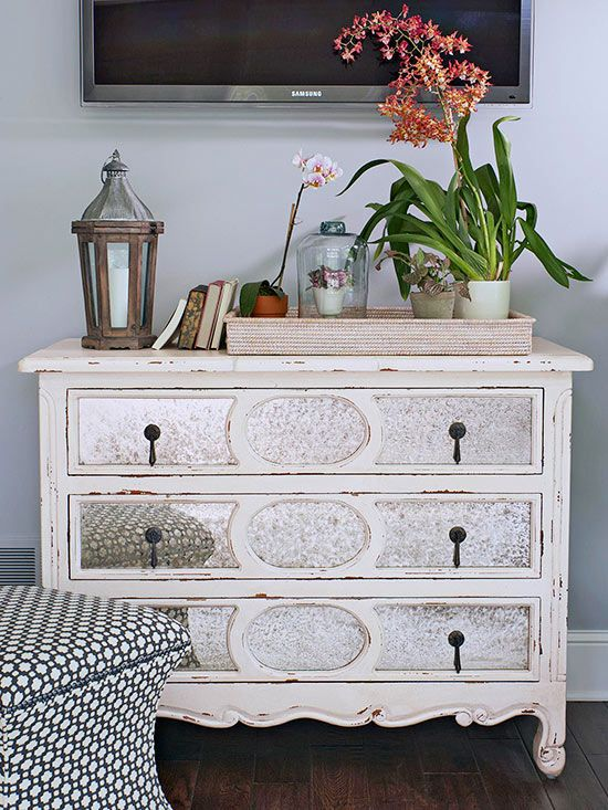 Break Up Your Bedroom Set Bring A Bedside Table Into The Living Room Use