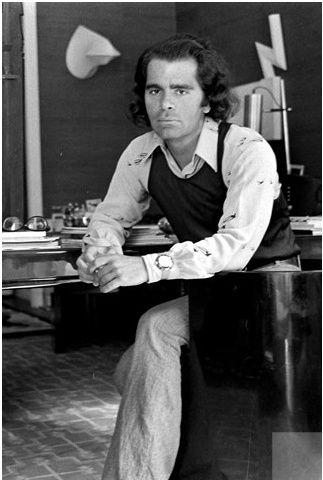 1971 Karl Lagerfeld Karl Lagerfeld Fashion Lagerfeld Karl Lagerfeld