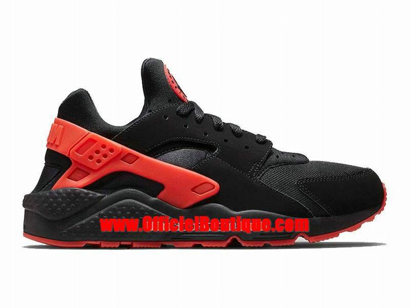 online retailer 26e33 bf126 Chaussure Nike Sportswear Pas Cher Pour Femme Officiel Nike Air Huarache Run  GS Noir Rouge
