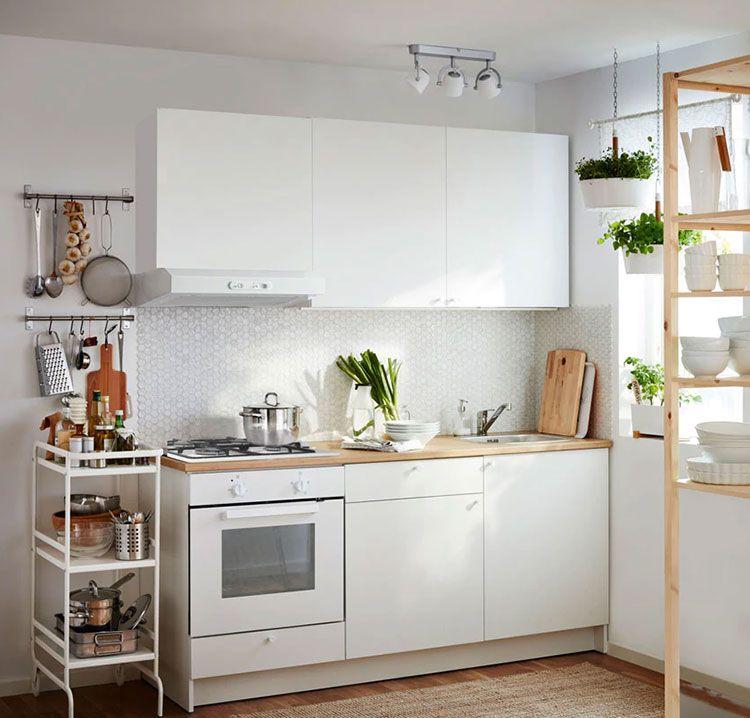 Cucina Di 2 Metri Lineare Di Ikea 04 Nel 2020 Cucina Ikea Arredo Interni Cucina Arredamento