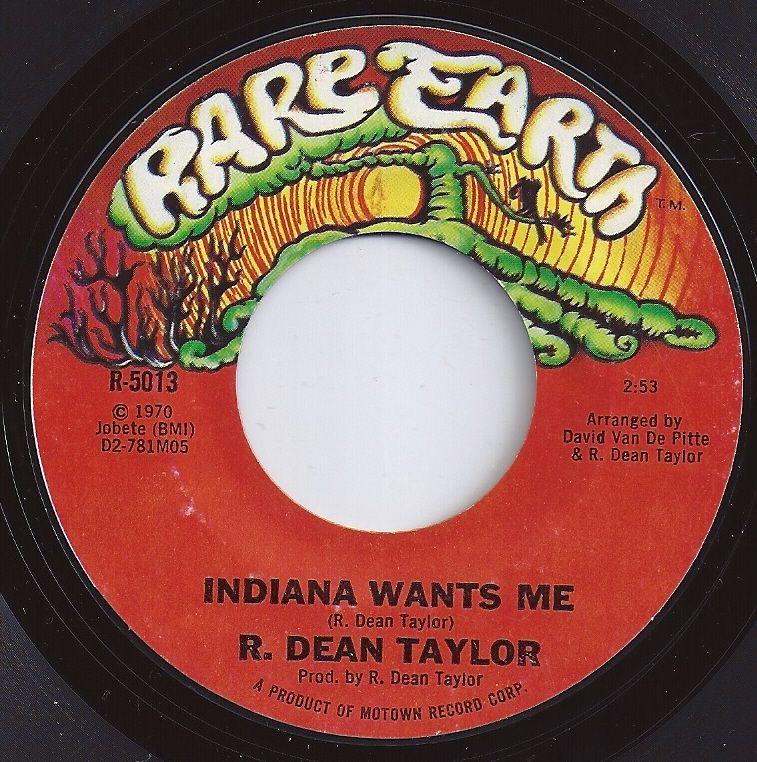 5 On Billboard Indiana Wants Me R Dean Taylor 45