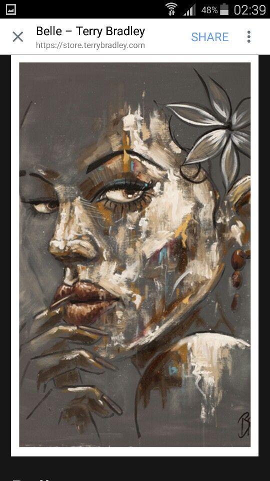 Terry Bradley art | Bad to the Bone... | Pinterest